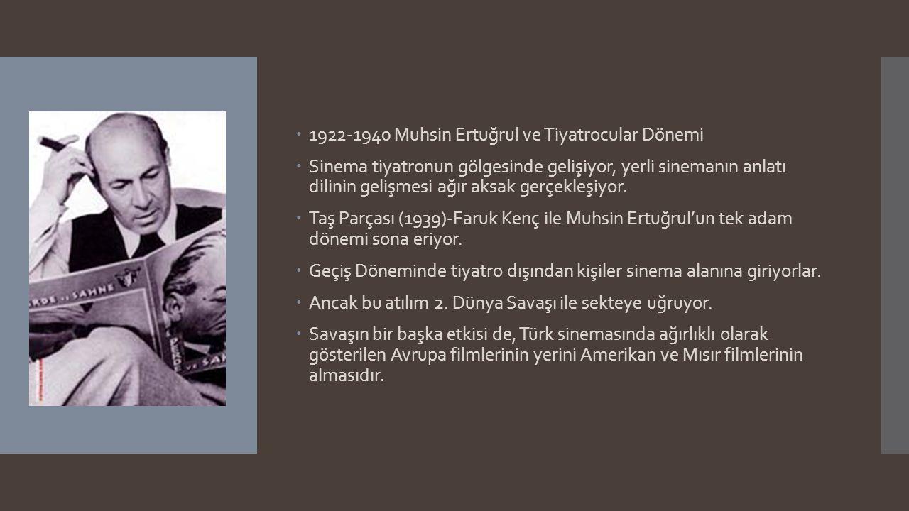 1922-1940 Muhsin Ertuğrul ve Tiyatrocular Dönemi
