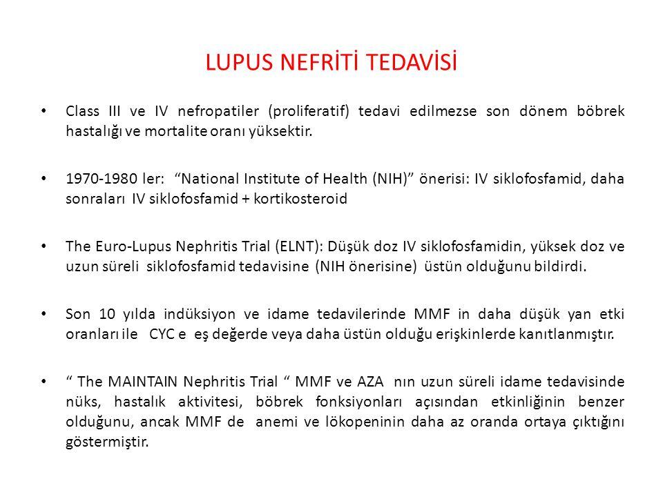 LUPUS NEFRİTİ TEDAVİSİ
