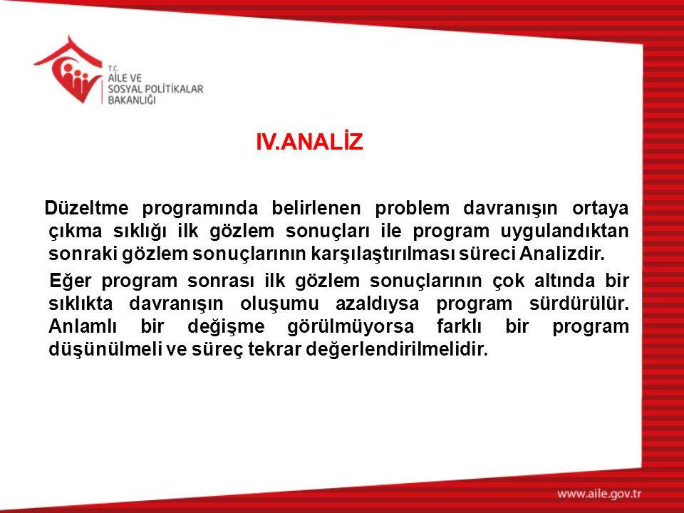 IV.ANALİZ