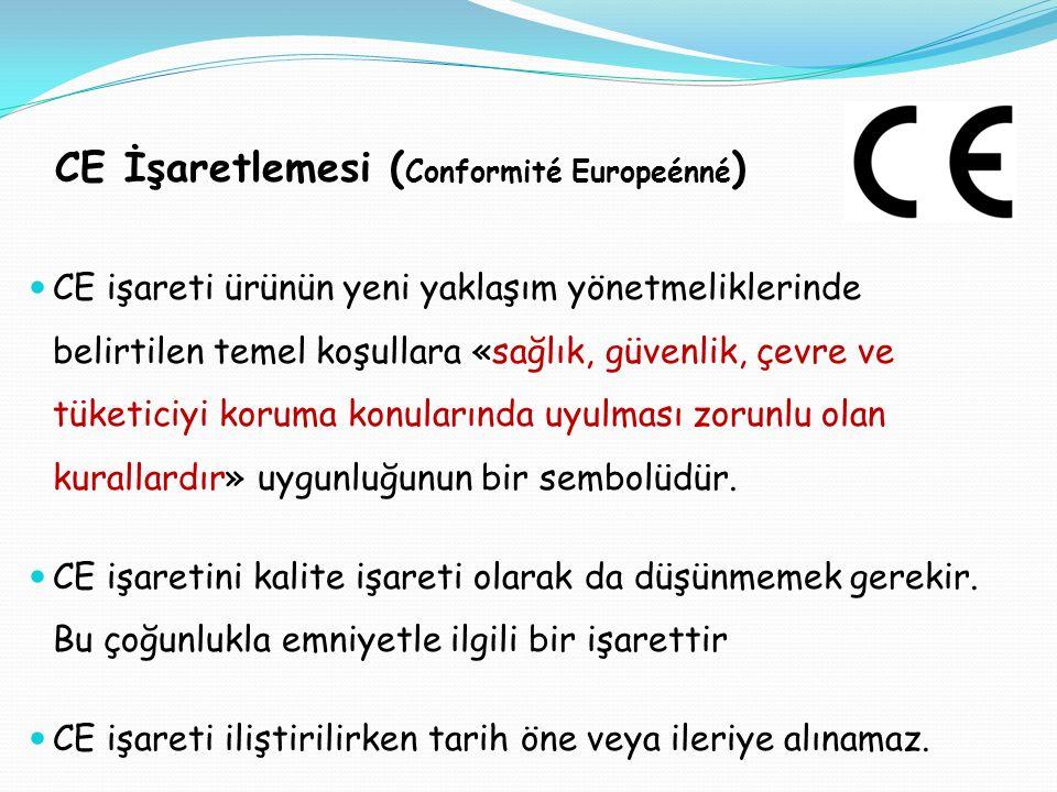 CE İşaretlemesi (Conformité Europeénné)
