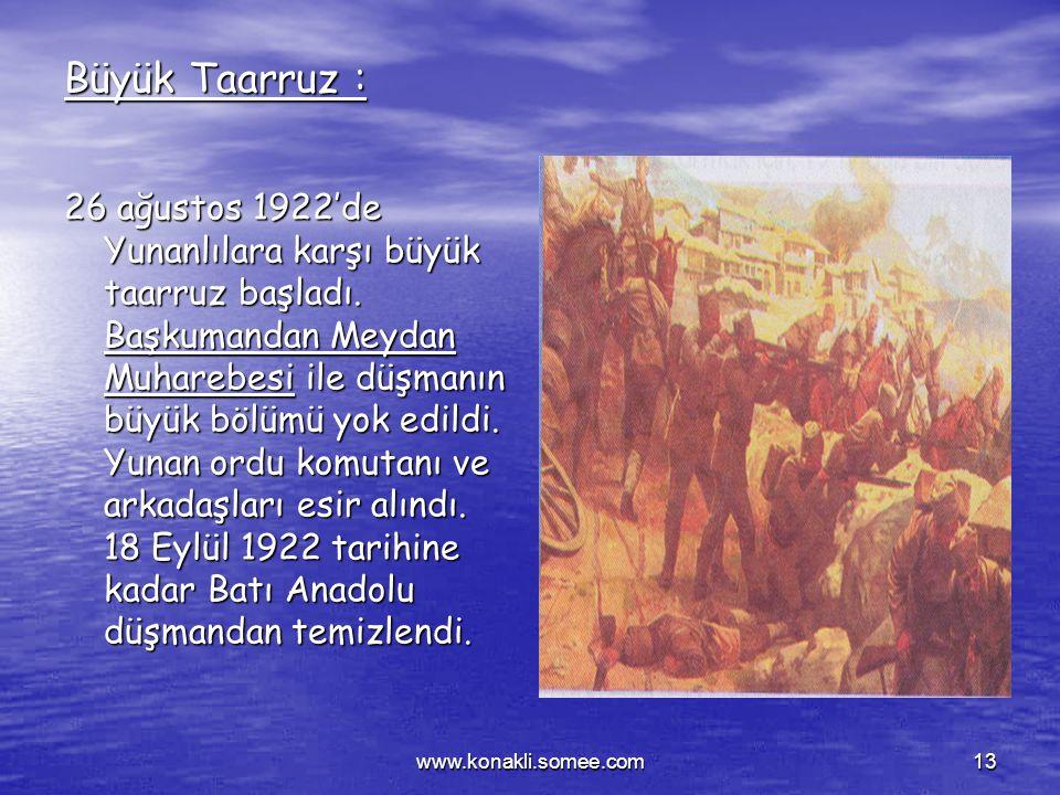 Büyük Taarruz :
