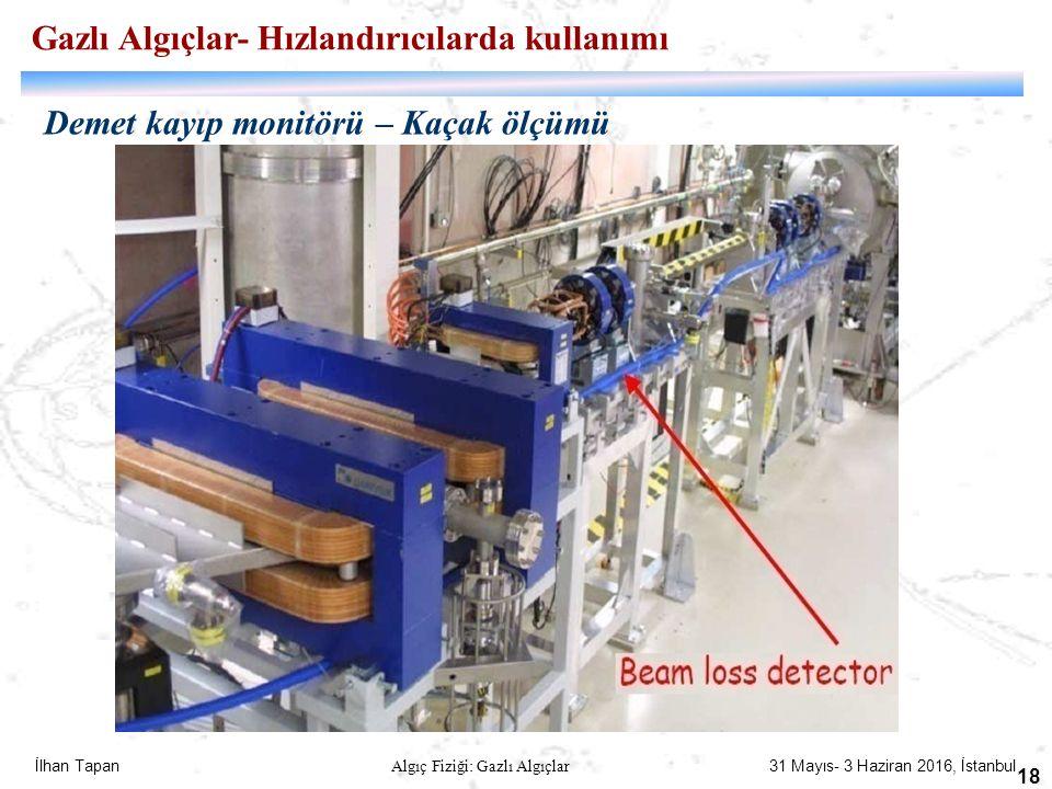 Gazlı Algıçlar- Hızlandırıcılarda kullanımı