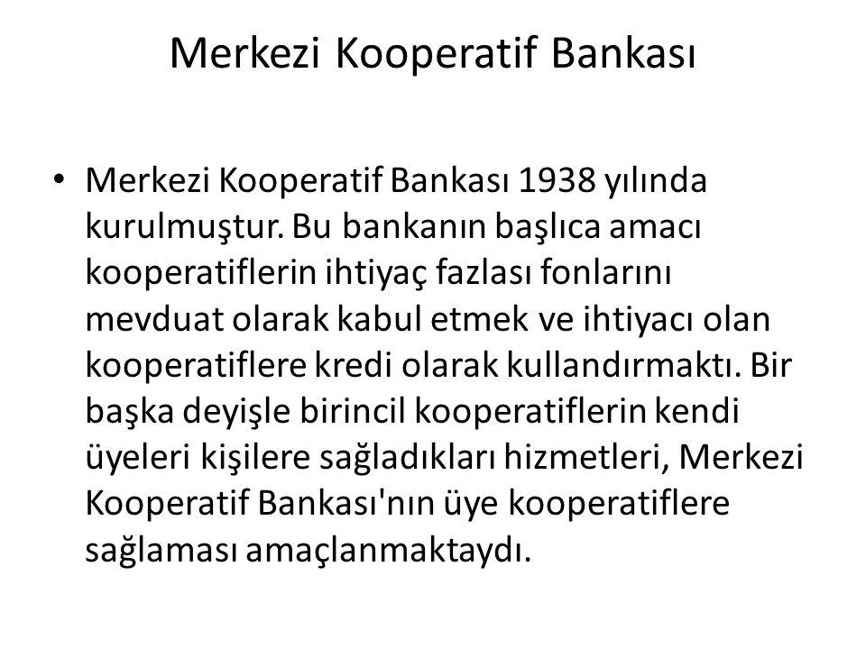 Merkezi Kooperatif Bankası