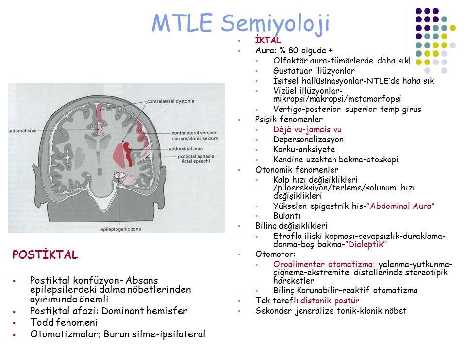MTLE Semiyoloji POSTİKTAL