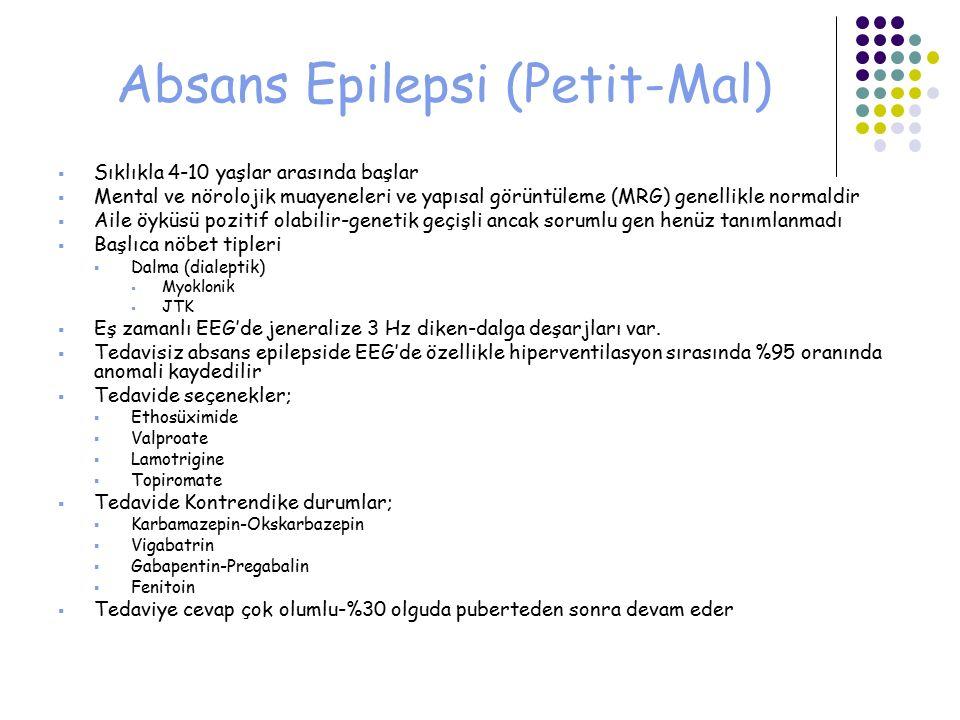 Absans Epilepsi (Petit-Mal)
