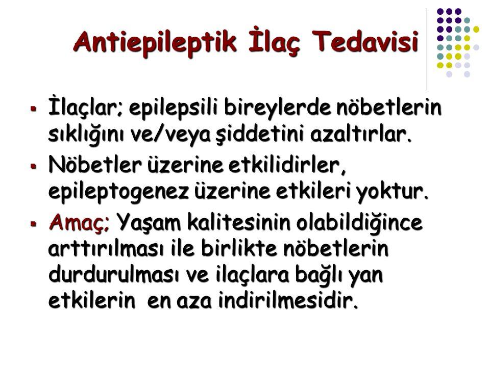 Antiepileptik İlaç Tedavisi