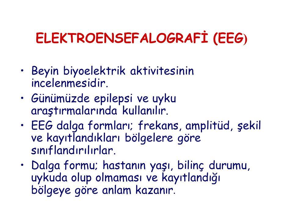 ELEKTROENSEFALOGRAFİ (EEG)