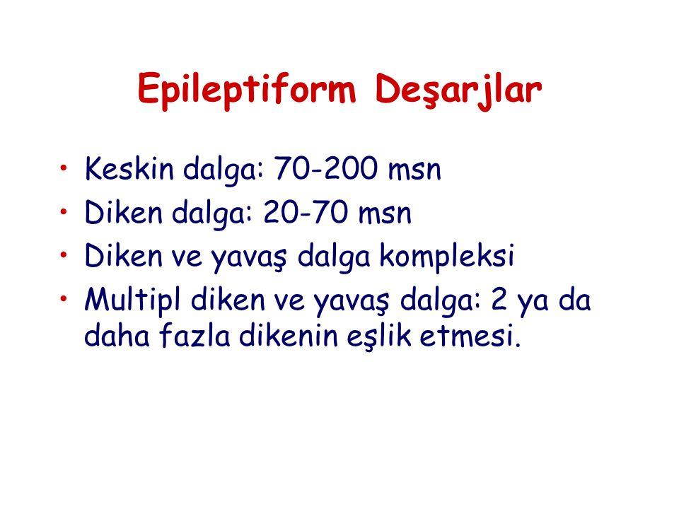 Epileptiform Deşarjlar