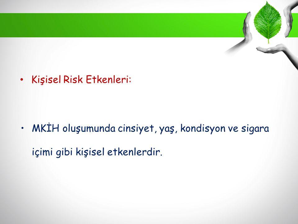 Kişisel Risk Etkenleri: