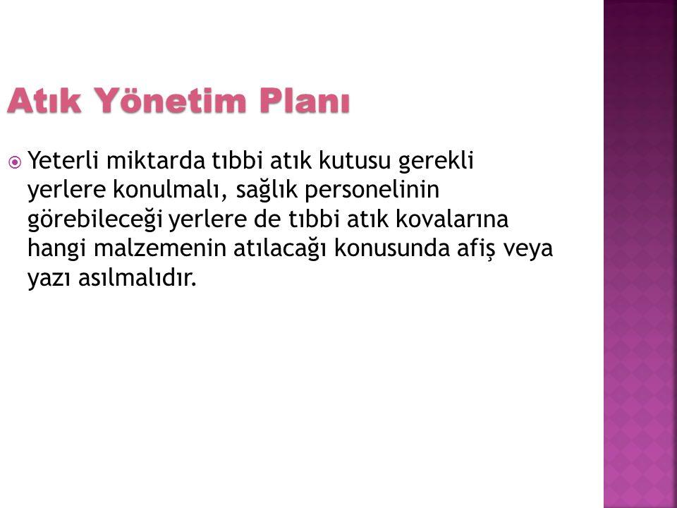 Atık Yönetim Planı