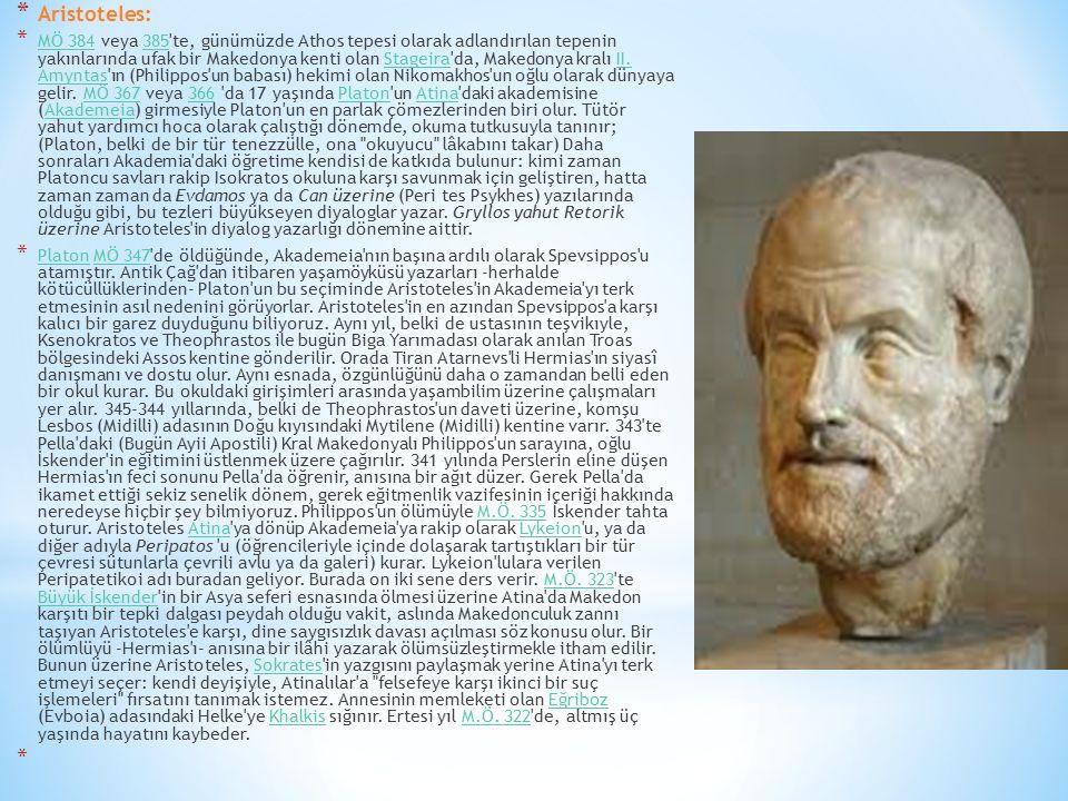 Aristoteles: