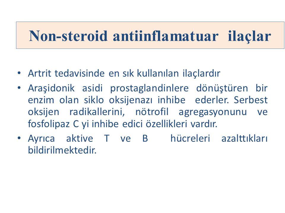 Non-steroid antiinflamatuar ilaçlar