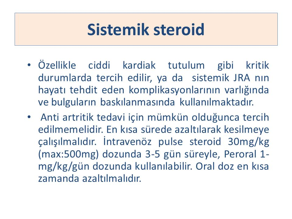 Sistemik steroid