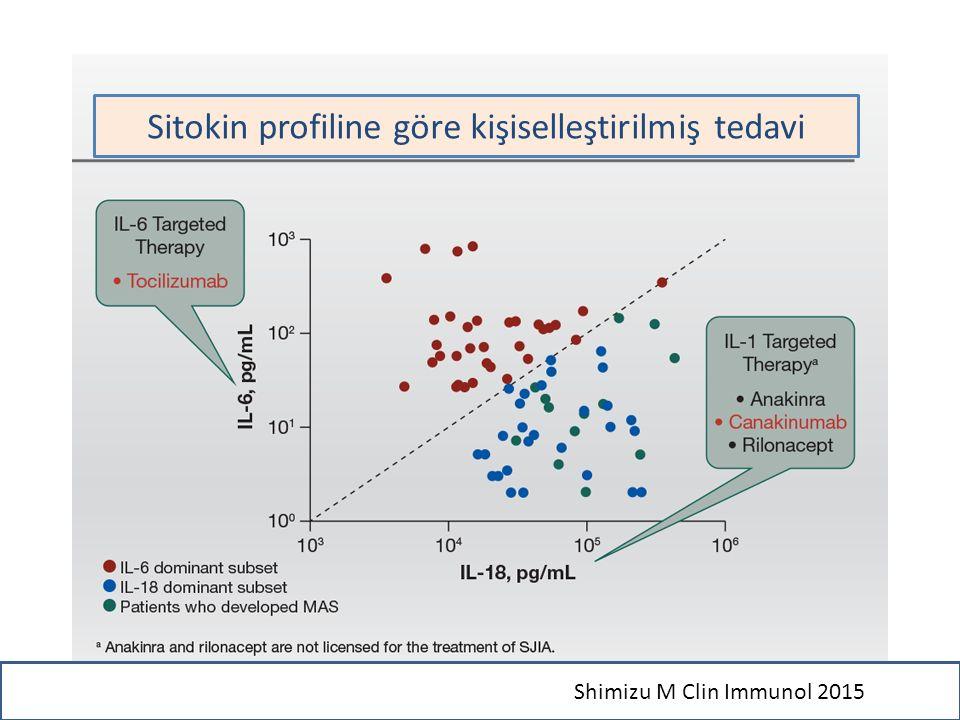 Sitokin profiline göre kişiselleştirilmiş tedavi