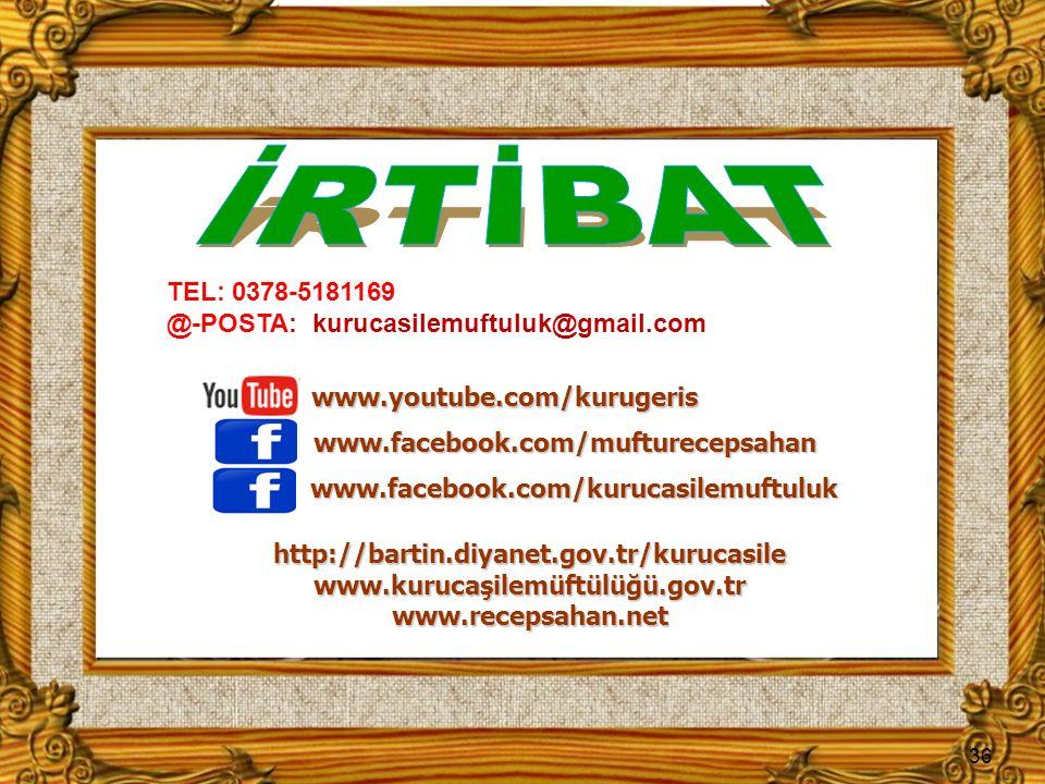 www.kurucaşilemüftülüğü.gov.tr www.recepsahan.net