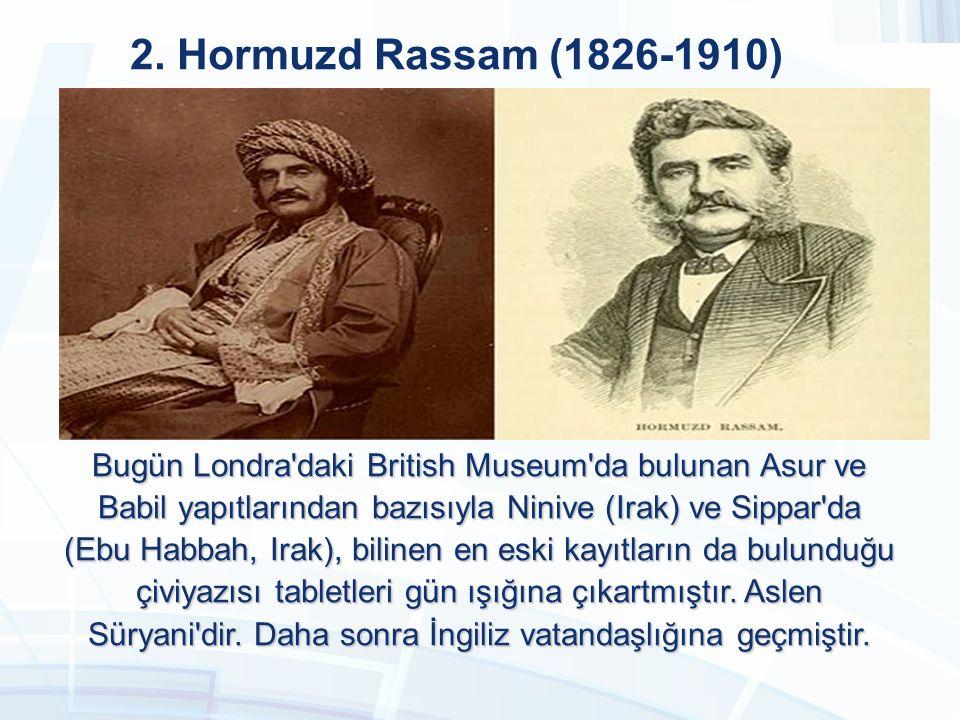 2. Hormuzd Rassam (1826-1910)