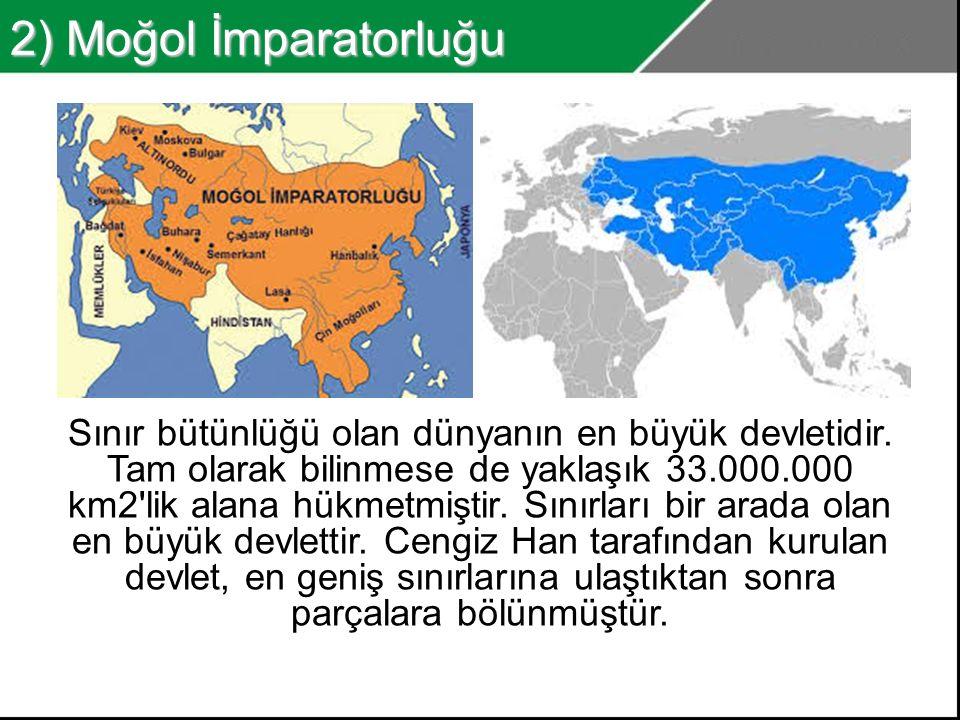 2) Moğol İmparatorluğu