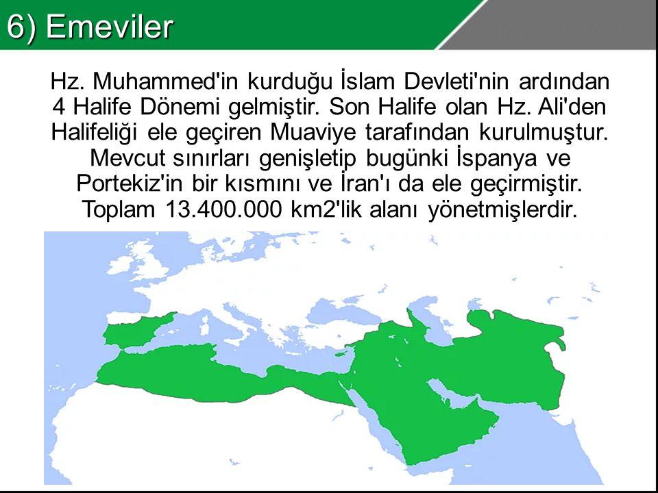6) Emeviler
