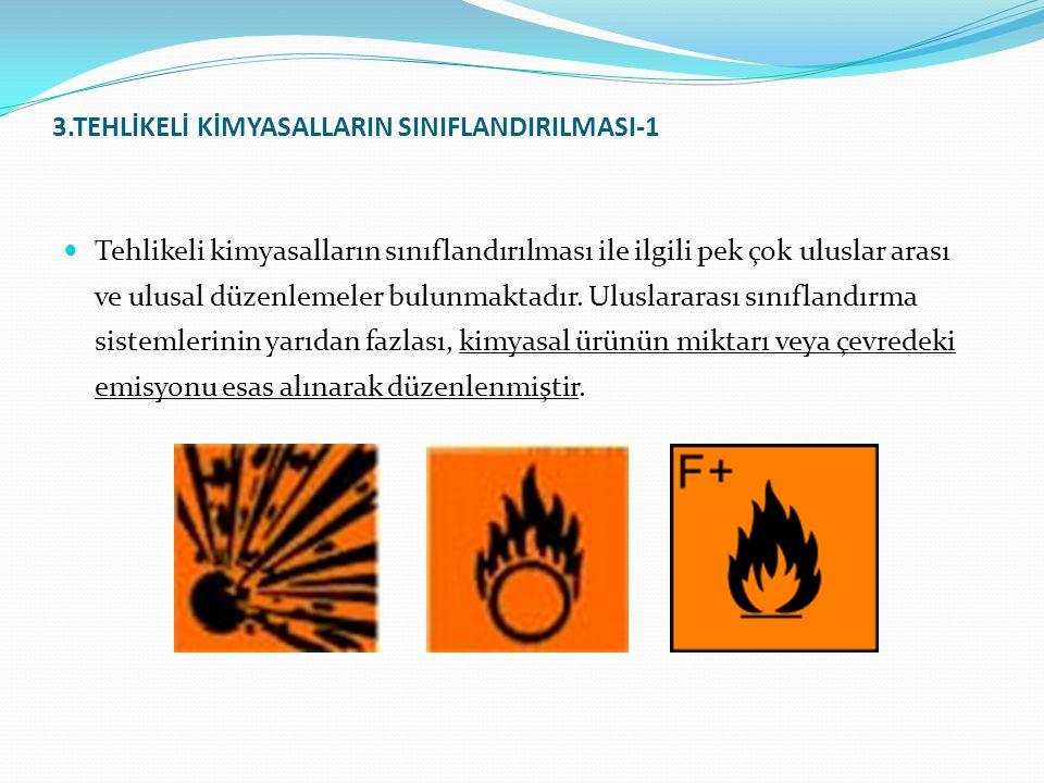 3.TEHLİKELİ KİMYASALLARIN SINIFLANDIRILMASI-1
