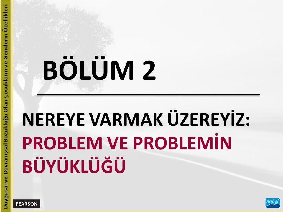 BÖLÜM 2 NEREYE VARMAK ÜZEREYİZ: PROBLEM VE PROBLEMİN BÜYÜKLÜĞÜ