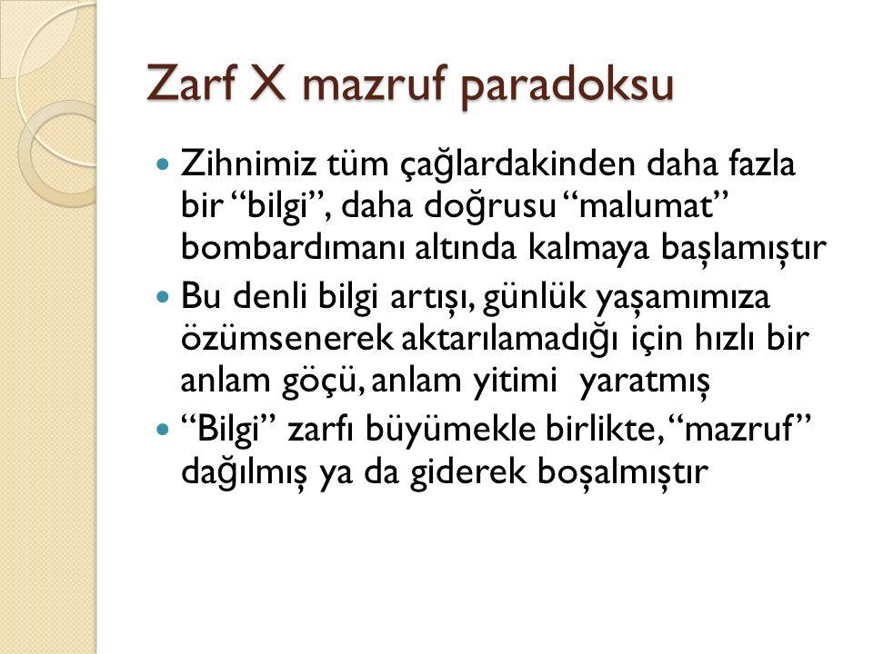 Zarf X mazruf paradoksu