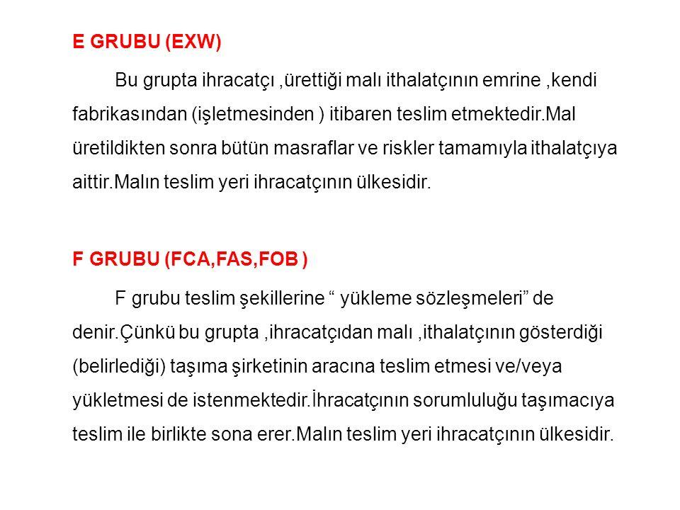 E GRUBU (EXW)