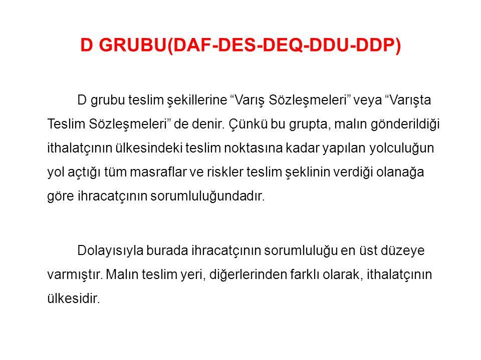 D GRUBU(DAF-DES-DEQ-DDU-DDP)