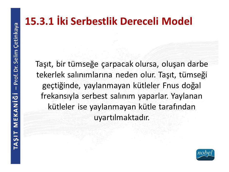 15.3.1 İki Serbestlik Dereceli Model