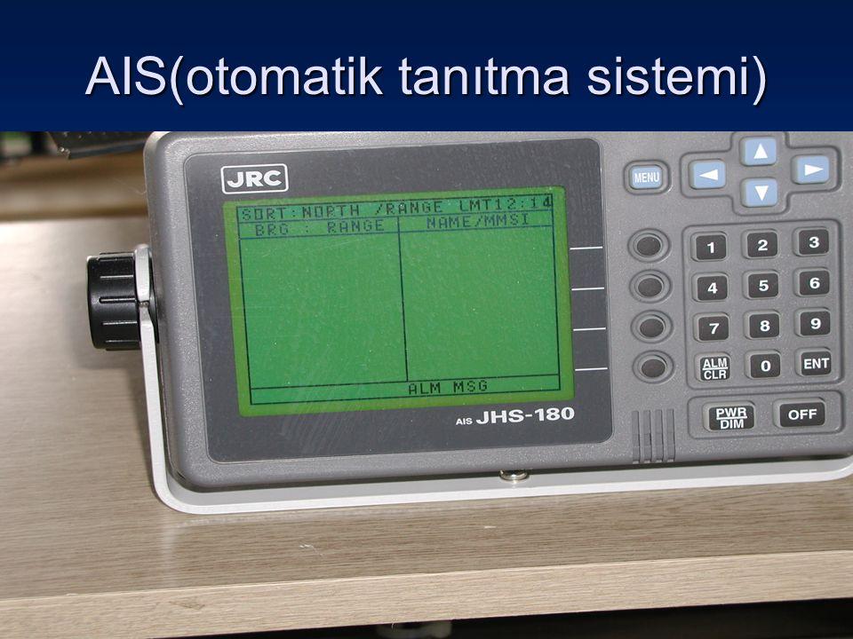 AIS(otomatik tanıtma sistemi)