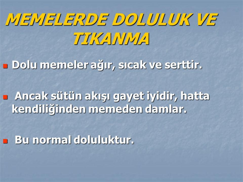 MEMELERDE DOLULUK VE TIKANMA
