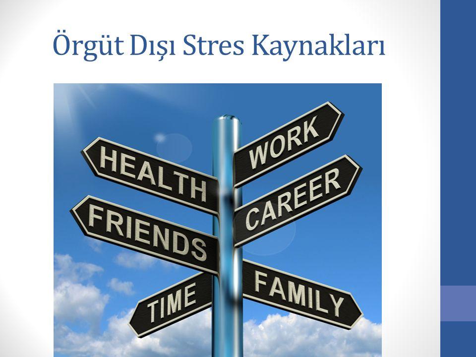 Örgüt Dışı Stres Kaynakları