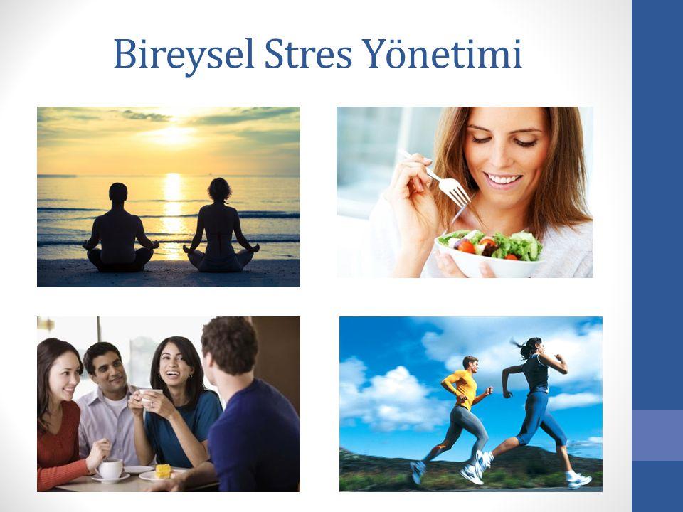 Bireysel Stres Yönetimi