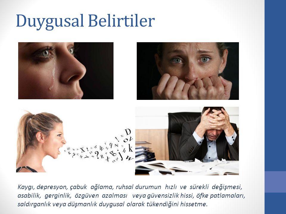 Duygusal Belirtiler