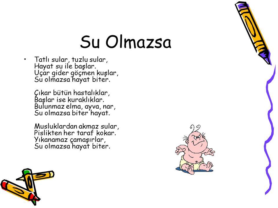 Su Olmazsa