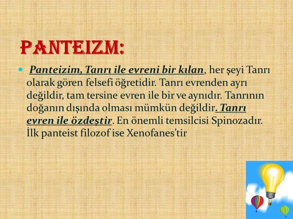 Panteizm: