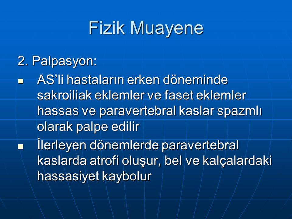 Fizik Muayene 2. Palpasyon: