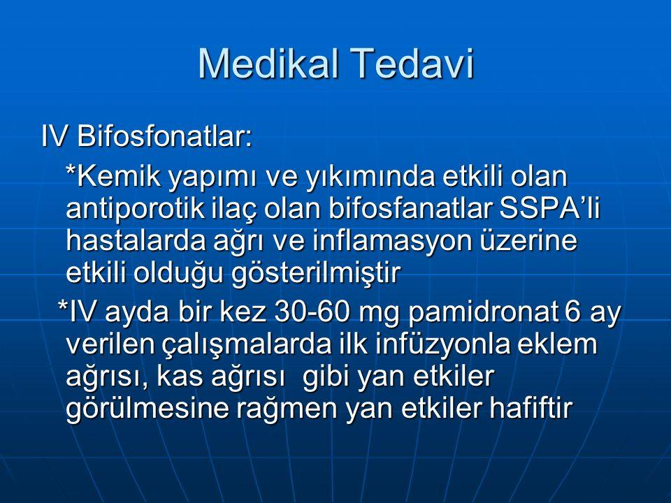 Medikal Tedavi IV Bifosfonatlar: