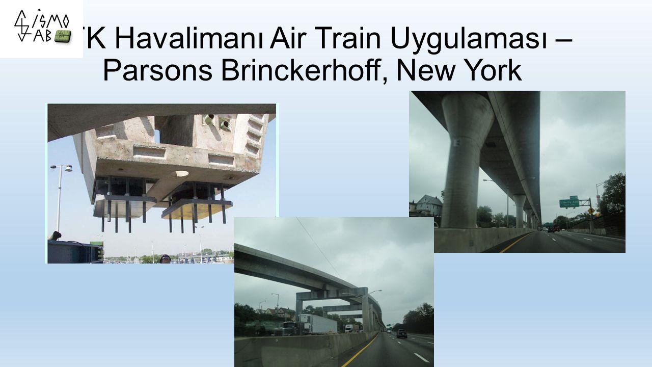 JFK Havalimanı Air Train Uygulaması – Parsons Brinckerhoff, New York