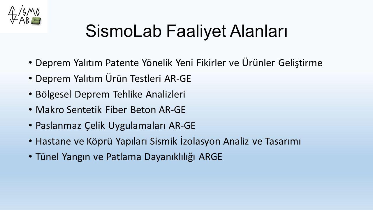SismoLab Faaliyet Alanları