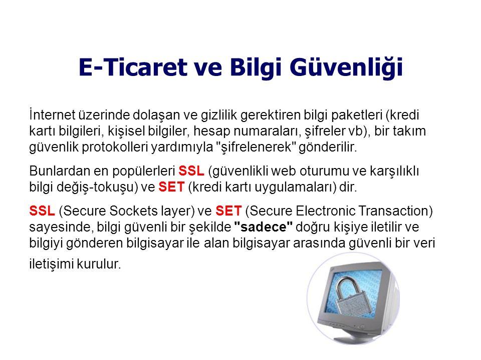 E-Ticaret ve Bilgi Güvenliği