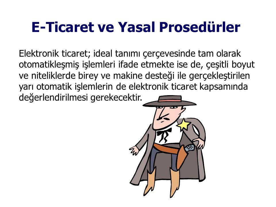 E-Ticaret ve Yasal Prosedürler