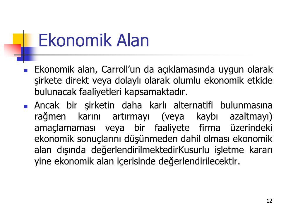 Ekonomik Alan