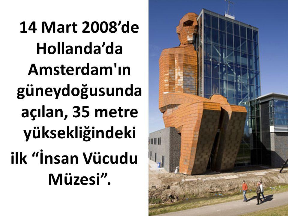 ilk İnsan Vücudu Müzesi .