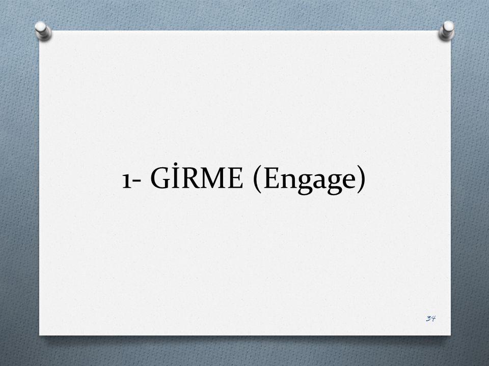 1- GİRME (Engage)