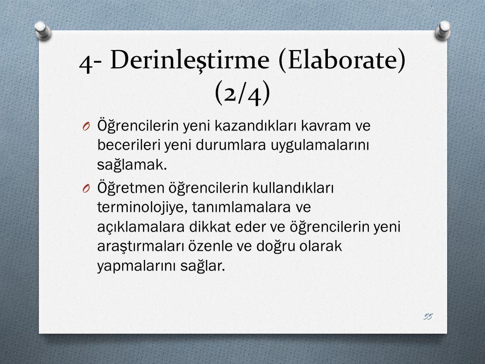 4- Derinleştirme (Elaborate) (2/4)