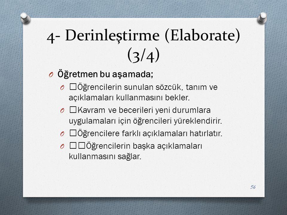 4- Derinleştirme (Elaborate) (3/4)
