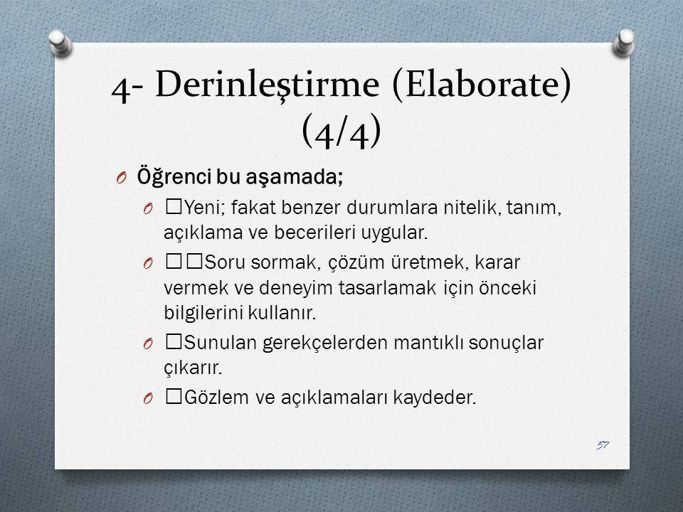 4- Derinleştirme (Elaborate) (4/4)