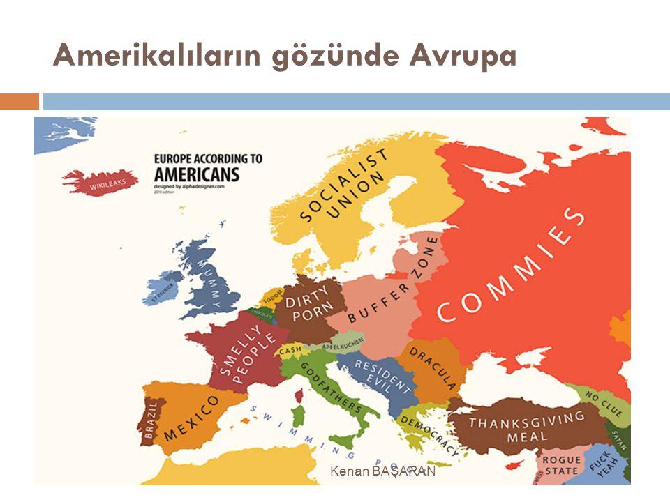 Amerikalıların gözünde Avrupa
