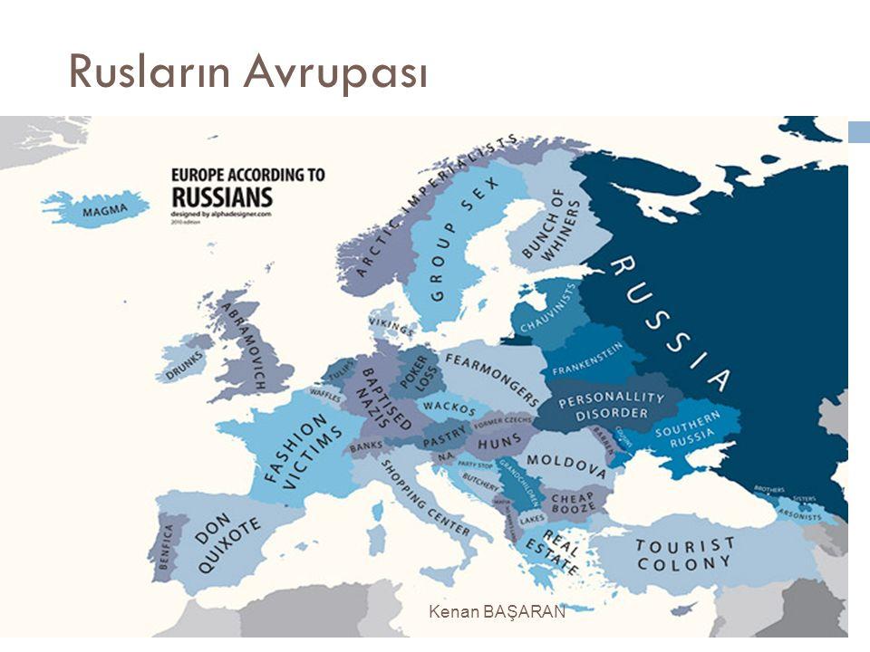 Rusların Avrupası Kenan BAŞARAN