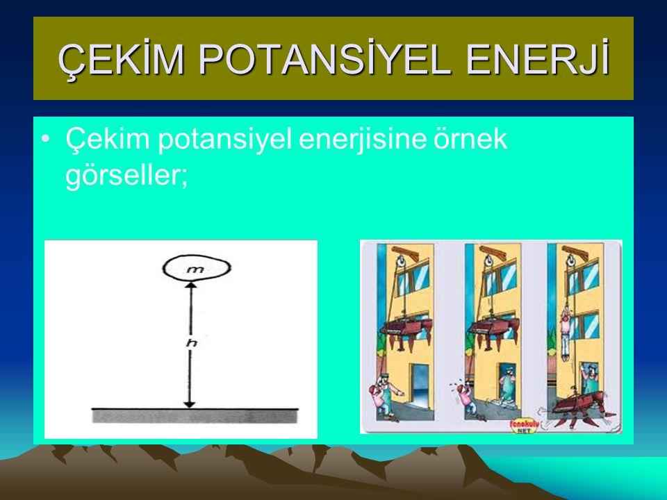 ÇEKİM POTANSİYEL ENERJİ